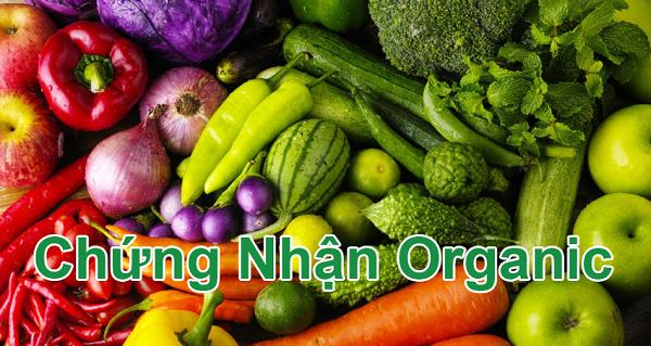 chứng nhận organic