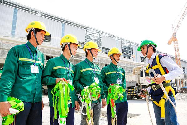 Huấn luyện an toàn vệ sinh lao động nhóm 4